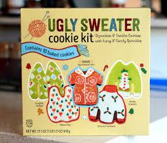 Cookie Decorating Kits Trader Joe U0027s Ugly Sweater Cookie Kit Reviewed Baking Bites