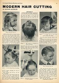 boy haircuts 1940s little boy s first haircut 1940 vintage glamour 1940 s