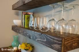 create dining room storage with floating shelves hey let u0027s make