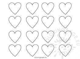 heart template these free printable heart shape templates are