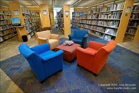 comfy library chairs study session square off boston university