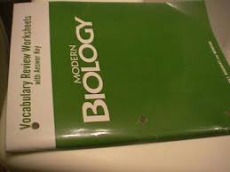 Holt Biology Worksheet Answers Ebluejay Holt Modern Biology Vocabulary Review Worksheets With