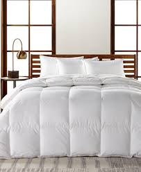 What Is The Best Material For Comforters Hotel Collection European White Goose Down Lightweight Comforters