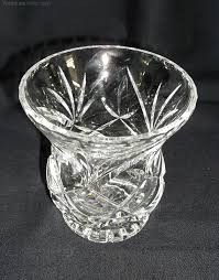 Cut Crystal Vases Antique Antiques Atlas Brierley Cut Glass Vase