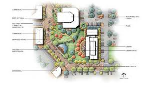 Amphitheater Floor Plan by Yorba Linda Town Center Specific Plan Www Rrmdesign Com