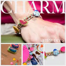 charm bracelet make images Candy colored diy charm bracelet jpg