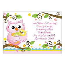 baby shower owls personalized owl baby shower invitations