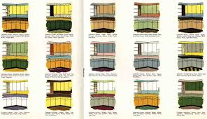 retro colors 1950s william miller design things i love about modernism color