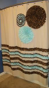High End Fabric Shower Curtains Shower Curtain Custom Made Designer Fabric By Countryruffles