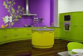 küche lila küche wandfarbe lila freshouse