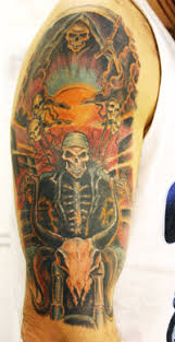 biker tattoo designs pictures and artwork