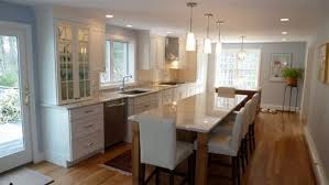 narrow kitchen island with seating kitchen island island table also brilliant