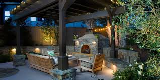 Outdoor Chimney Fireplace by An Outdoor Fireplace Is All You Need To Keep Summer Going Huffpost