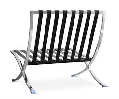 furniture best of stainless steel frame barcelona chair replica