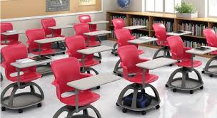 lecture tables and chairs echo designed for student centered learning