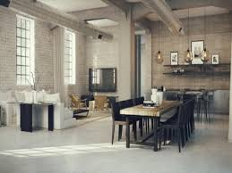 loft apartment brick home design