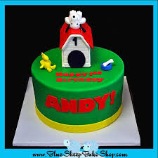 snoopy cakes custom specialty cakes and cupcakes nj snoopy birthday cake blue