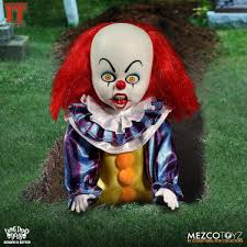 Pennywise Halloween Costume Living Dead Dolls Presents 1990 Pennywise Clown Doll Pop
