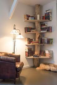 32 best wood home decoration ideas and designs for 2017 5 corner bookcase for a hobbit hole