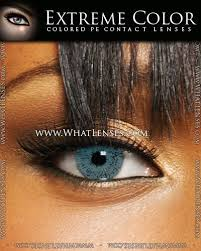 Light Brown Contact Lenses Extreme Color Light Blue Contact Lenses Pair