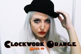 Clockwork Orange Halloween Costume Makeup Inspired Clockwork Orange