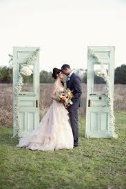 wedding backdrop doors 20 wedding ceremony decorated door ideas chic vintage brides
