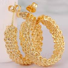 gold plated earrings aliexpress buy gold plated earrings for womens gold