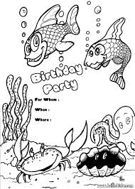 fish pictures print color coloring