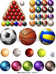 set different sports balls stock photos set different sports