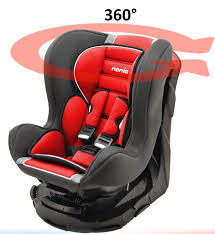 siege enfant isofix mycarsit revo 360 degree swivel and tilt car seat for carmine