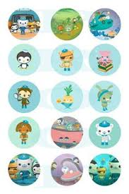 octonauts cupcake toppers u0026 wrappers octonauts party instant