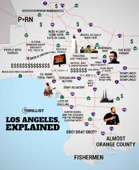 Santa Clarita Zip Code Map by Judgmental Map Of La Thrillist
