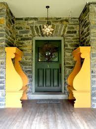 green front porch light decoration ideas entrancing image of front porch decoration using