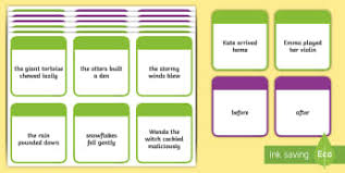 word conjunctions primary resources grammar word page 3