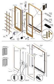 Patio Door Latch Replacement by Patio Doors Fwh Exploded V4 Notitle Anderson Patio Door Lockts