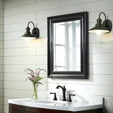 Lighting For Bathroom Mirrors Side Lights For Bathroom Mirror Farmhouse Bathroom With Side