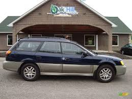 subaru station wagon 2000 dark blue pearl subaru outback wagon 12861141 photo 3