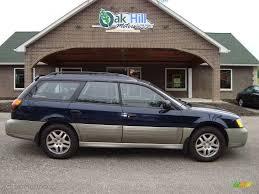 blue subaru outback 2000 dark blue pearl subaru outback wagon 12861141 gtcarlot com