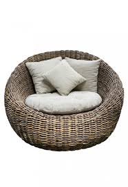 Papasan Chair And Cushion Bedroom Engaging Large Rattan Papasan Chair With Wing And White