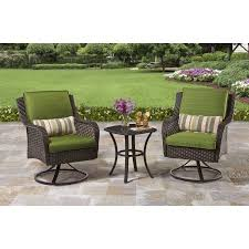 Patio Furniture Bistro Set Better Homes And Gardens Amelia Cove 3 Outdoor Bistro Set