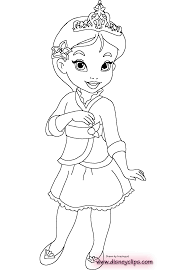 little princess coloring pages download and print for free
