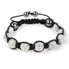 shamballa bracelet price images Stone white shamballa bracelet jpg