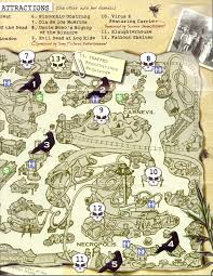 meet the world knott u0027s 40th halloween haunt part 1 park map