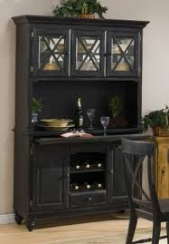 server with wine rack foter