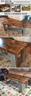 diy pallet work table beautifully rustic farmhouse bench i love it farmhouse and