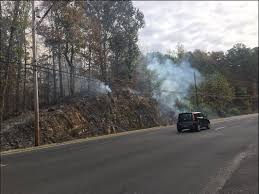 Wildfire Radar by Crews Battling Uncontained Wildfire In Oneonta Area Near Palisades