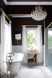chandelier bathroom lighting ideas for home decoration