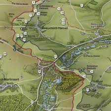 Lake District England Map by Wainwright Fells Of The Lake District Folded