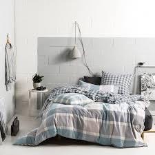 linen house cotton duvet cover set tanner