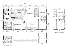 Golden West Homes Floor Plans by Gle562f 3 Bed 2 Bath 1512 Sqft Affordable Home For 84900